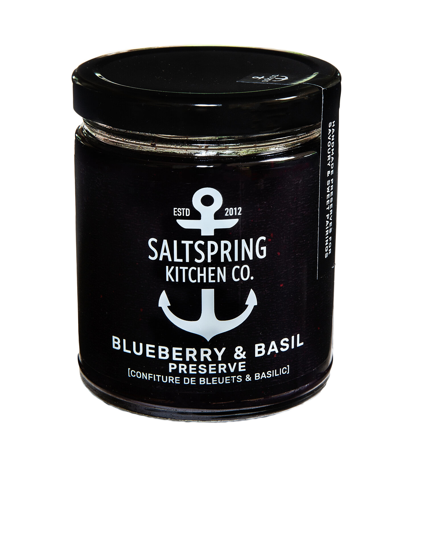 Blueberry Basil Preserve