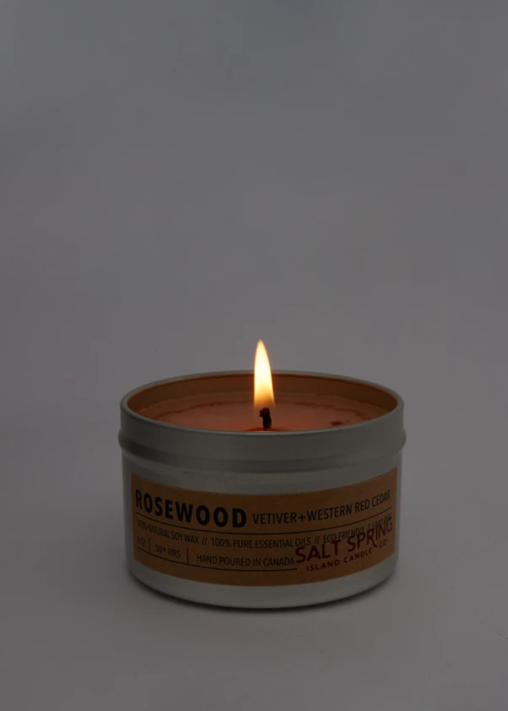 Salt Spring Island Candle Co. - Rosewood 4 oz Candle