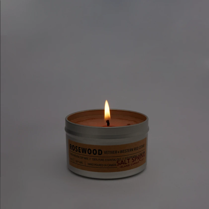 Rosewood 4 oz Candle