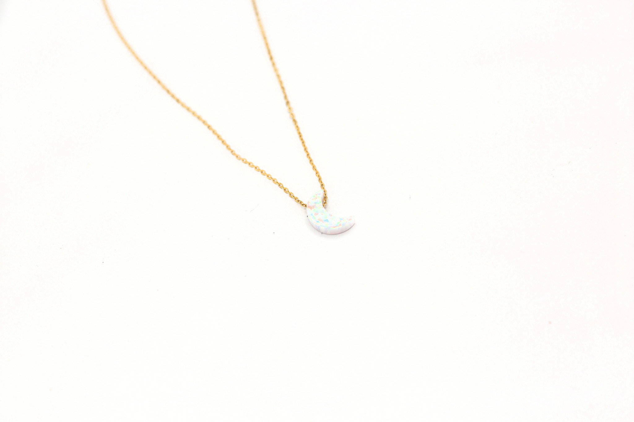 May Martin Moon Opalite Necklace