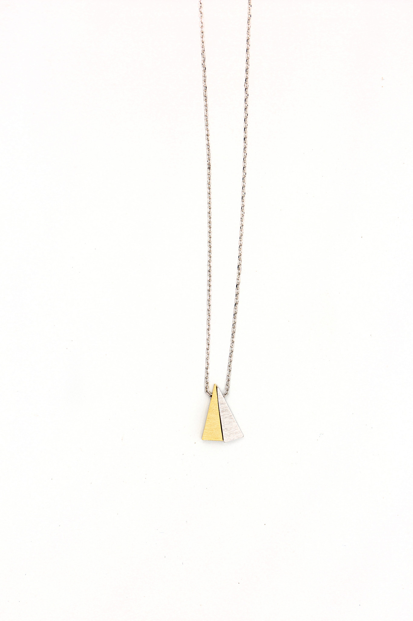 Triangle Duo Necklace