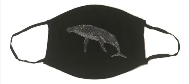 Printshop Northwest Humpback Whale Mask