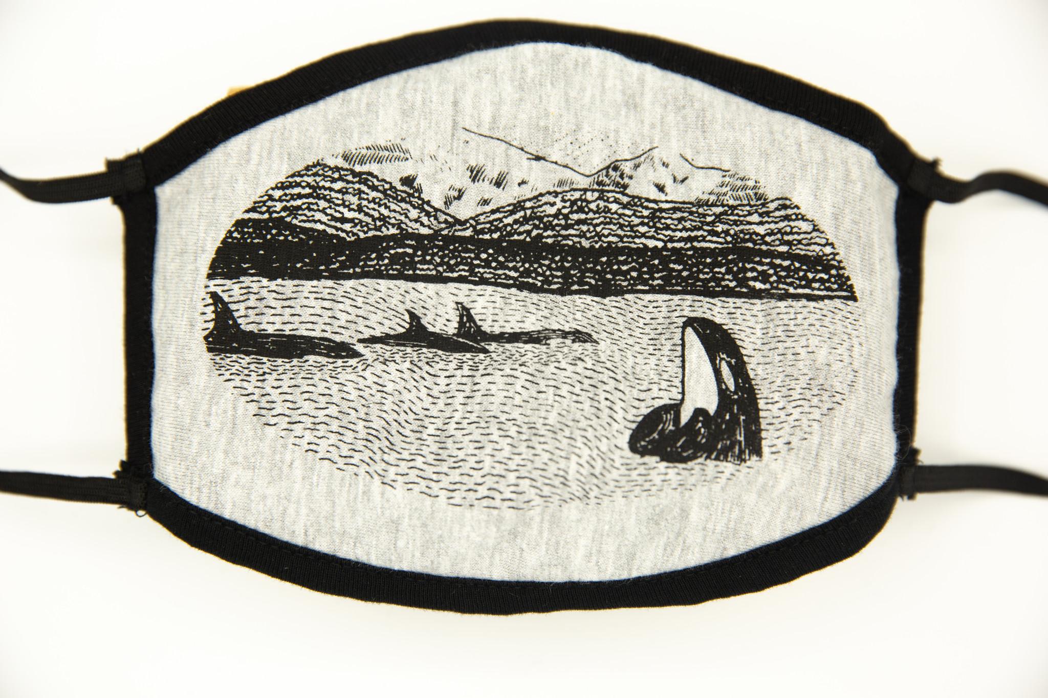 Printshop Northwest Spy Hop Orca Mask
