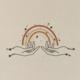 Colorblokc Look For Rainbows Print
