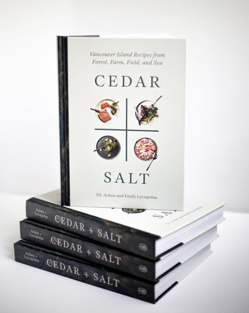 DL Acken Cedar + Salt Cookbook