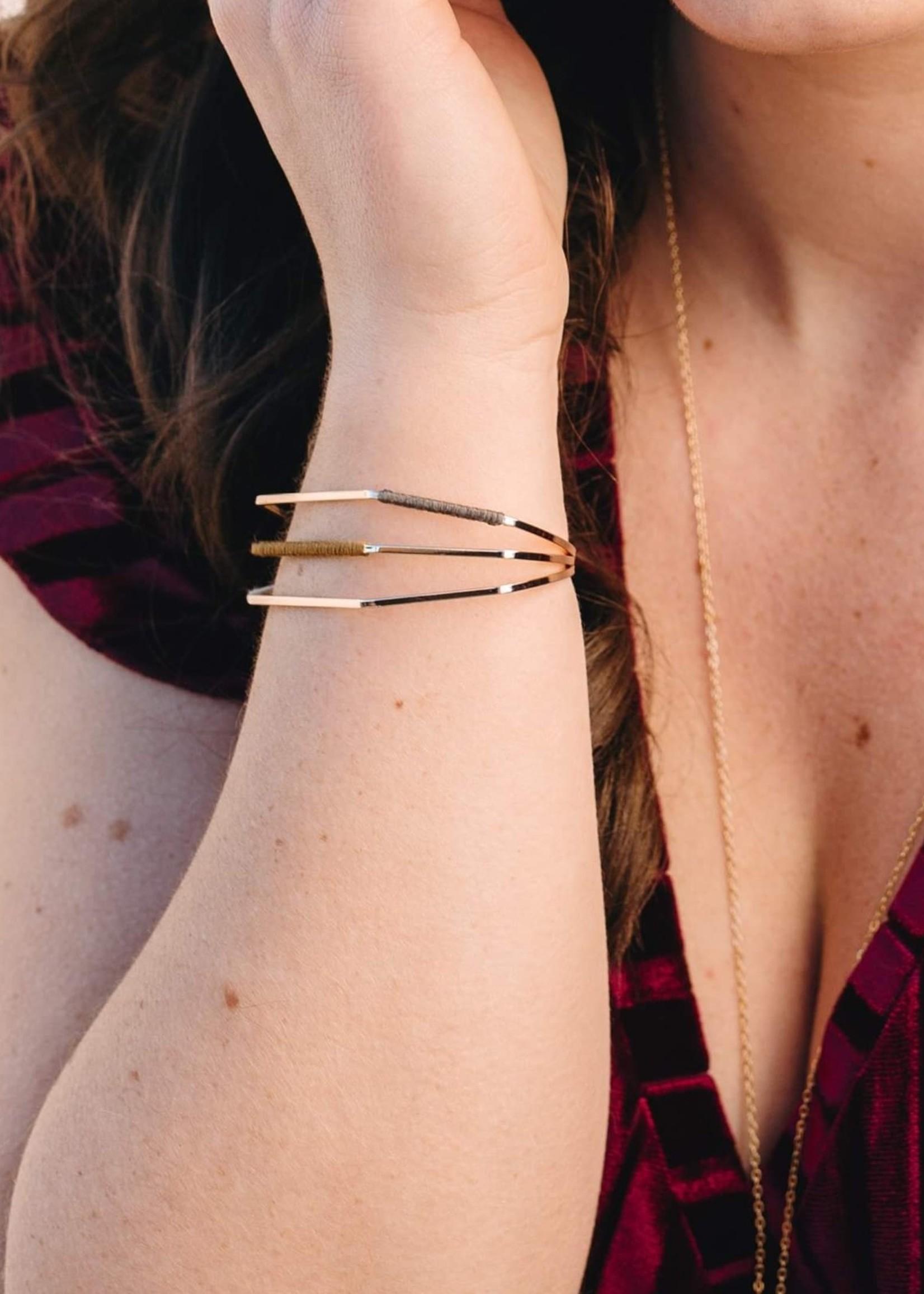 Migration - Geometric Bracelet