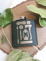 Axe + Lantern Flask