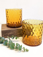 Dougherty Glassworks Deco Collection Glass - Amber