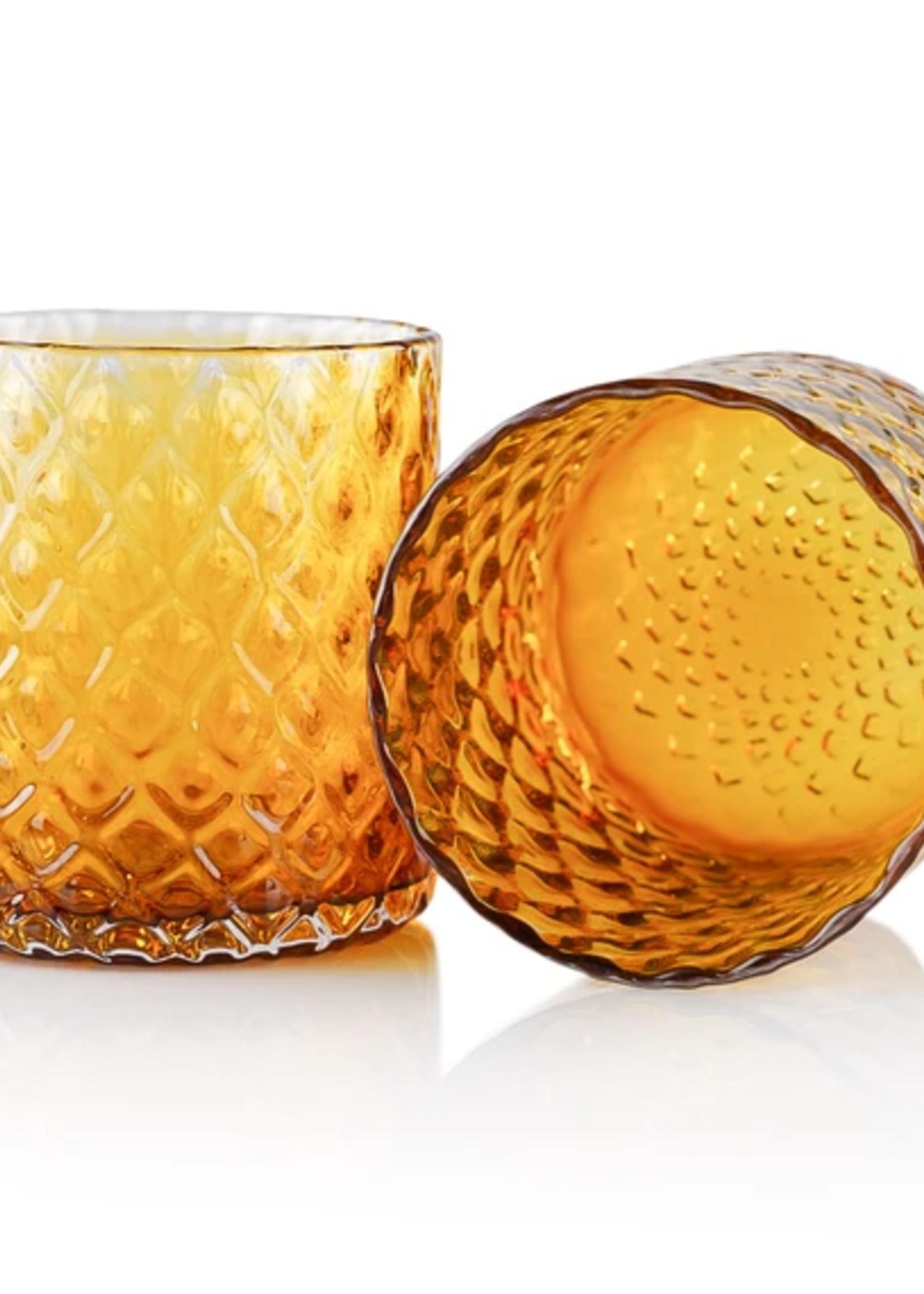Dougherty Glassworks Dougherty Glassworks - Deco Collection Glass - Amber