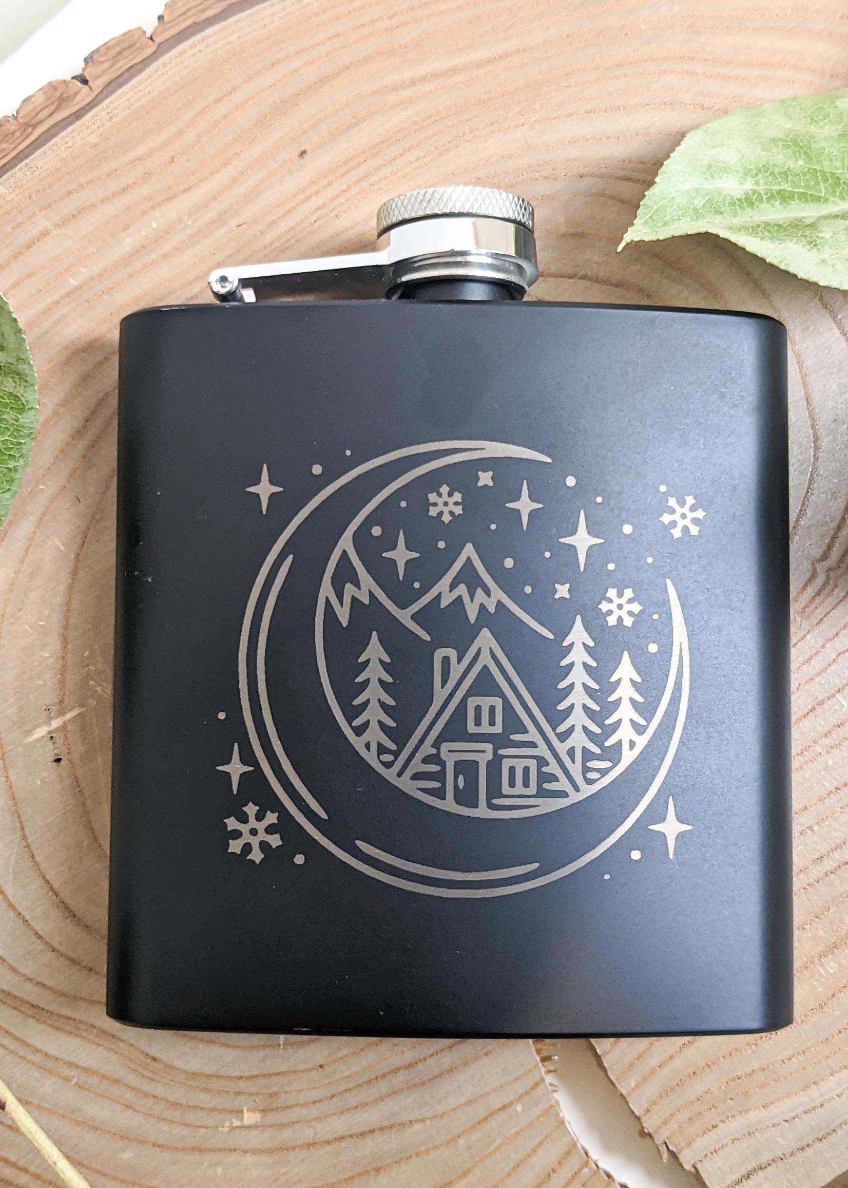 Moonshine Dreams - Moon Flask