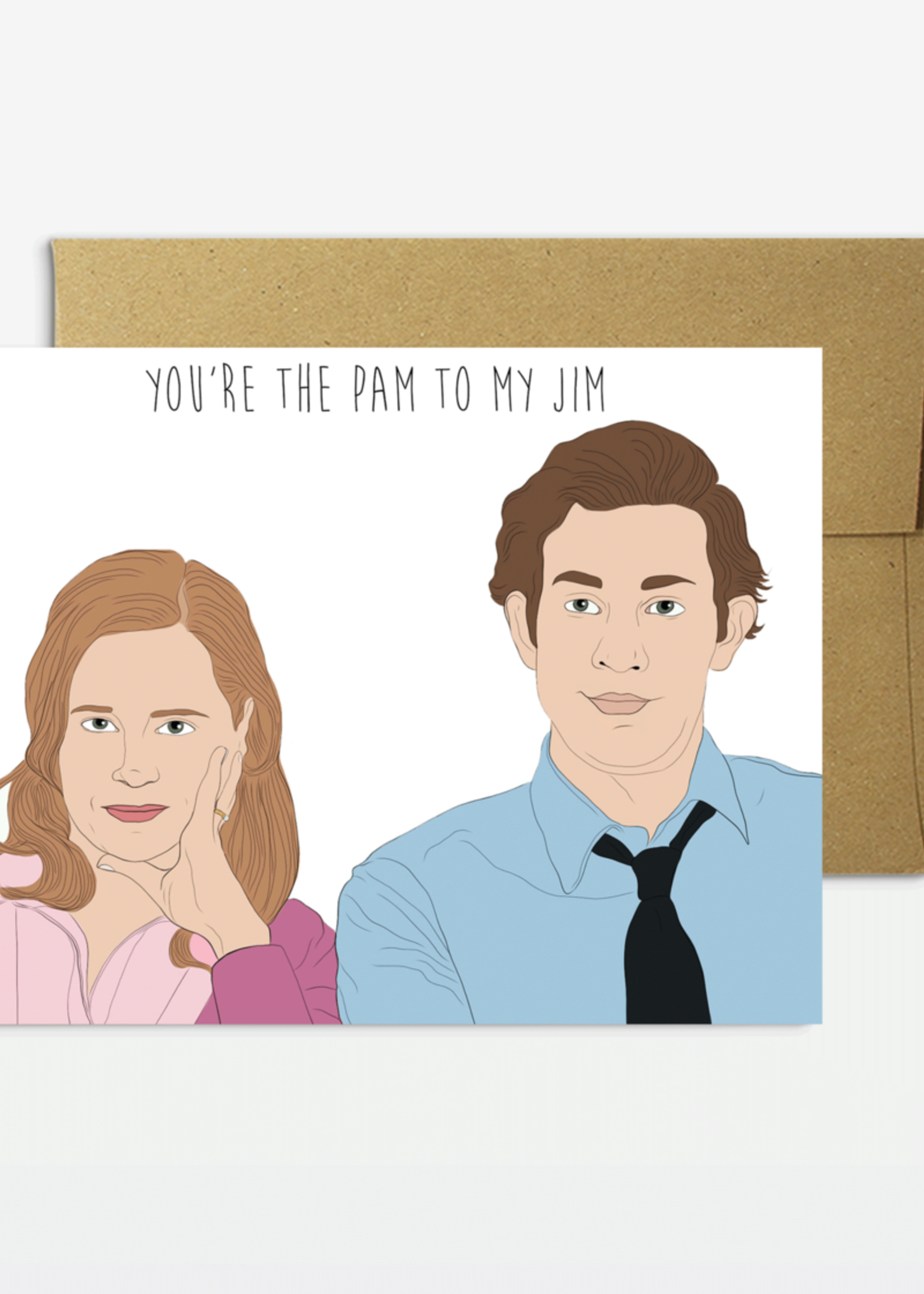 Party Mountain Paper co. Party Mountain - Pam to my Jim Card