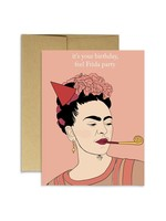 Party Mountain Paper co. Frida Bday Card