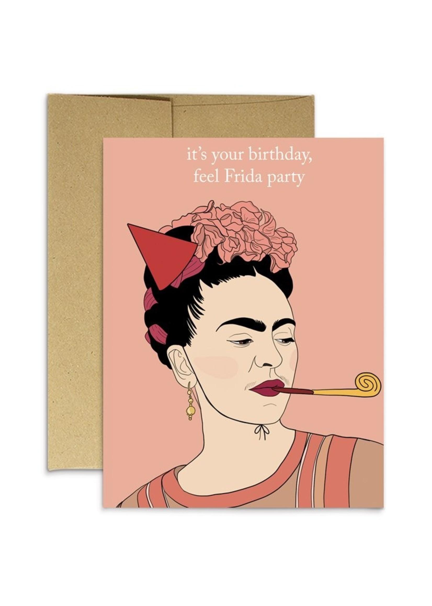 Party Mountain Paper co. Party Mountain - Frida Bday Card