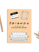 Party Mountain Paper co. Friends Coloring Book