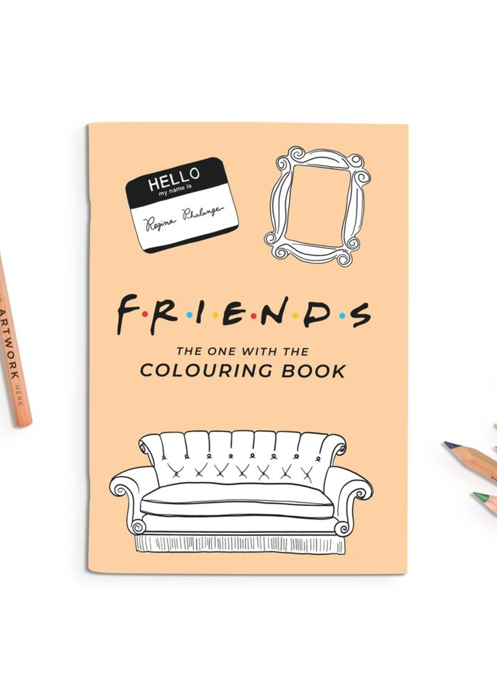 Party Mountain Paper co. Party Mountain - Friends Coloring Book