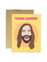 Party Mountain Paper co. Jvn Yas Queen Card