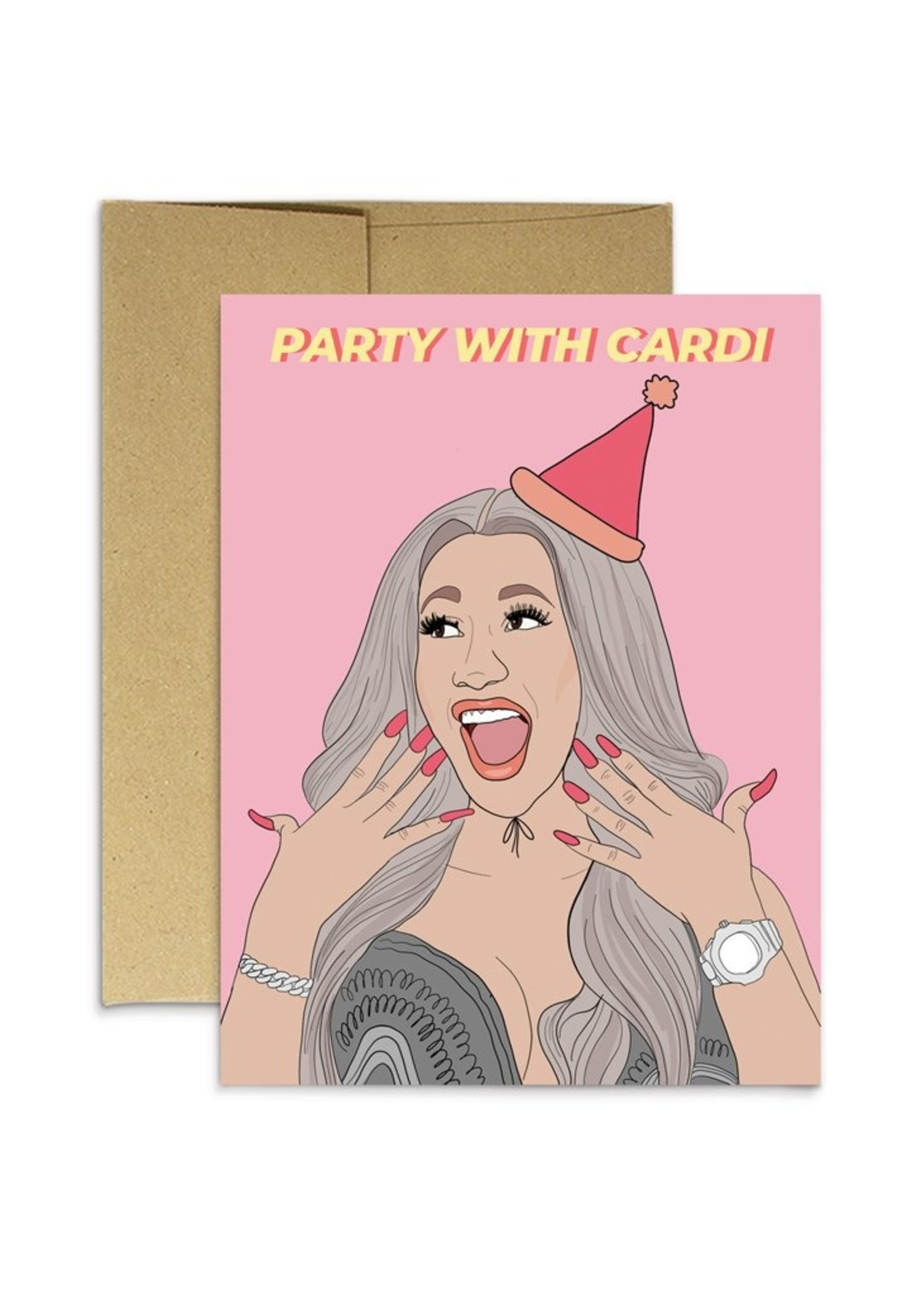 Party Mountain Paper co. Party Mountain - Party Cardi Card
