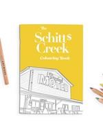 Party Mountain Paper co. Schitt's Creek Coloring Book