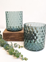 Dougherty Glassworks Deco Collection Glass - Sea Foam