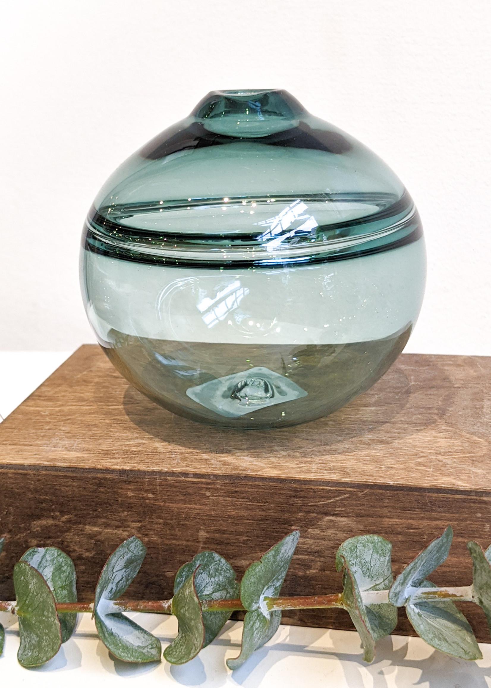 Dougherty Glassworks Dougherty Glassworks - Bud Vase Round - Sea Foam