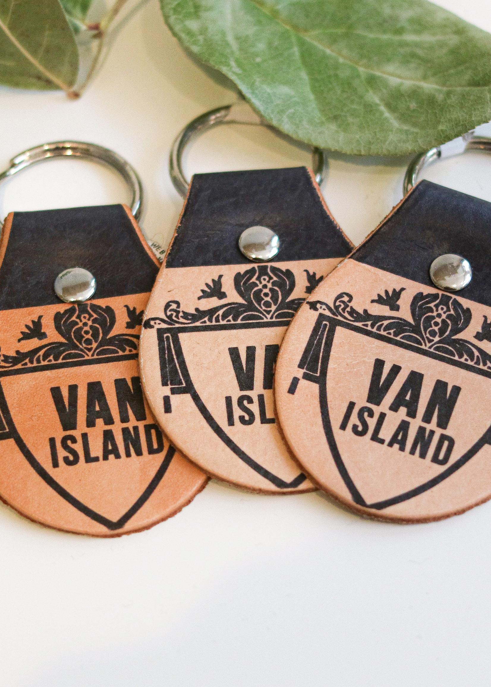Flight Path Designs - Van Island Keychain