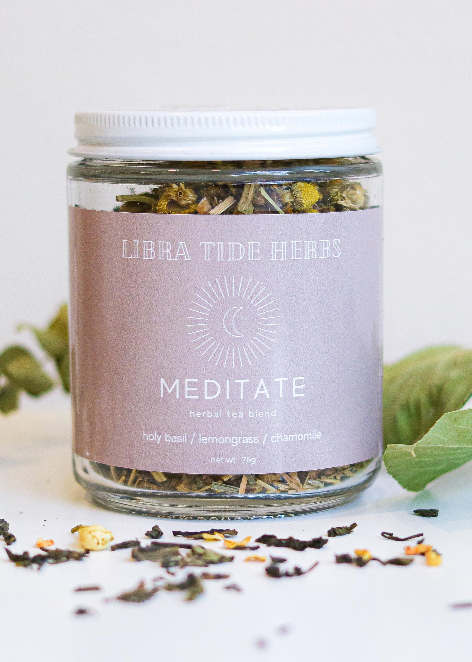 Libra Tide Herbs Libra Tide Herbs - Meditate Tea