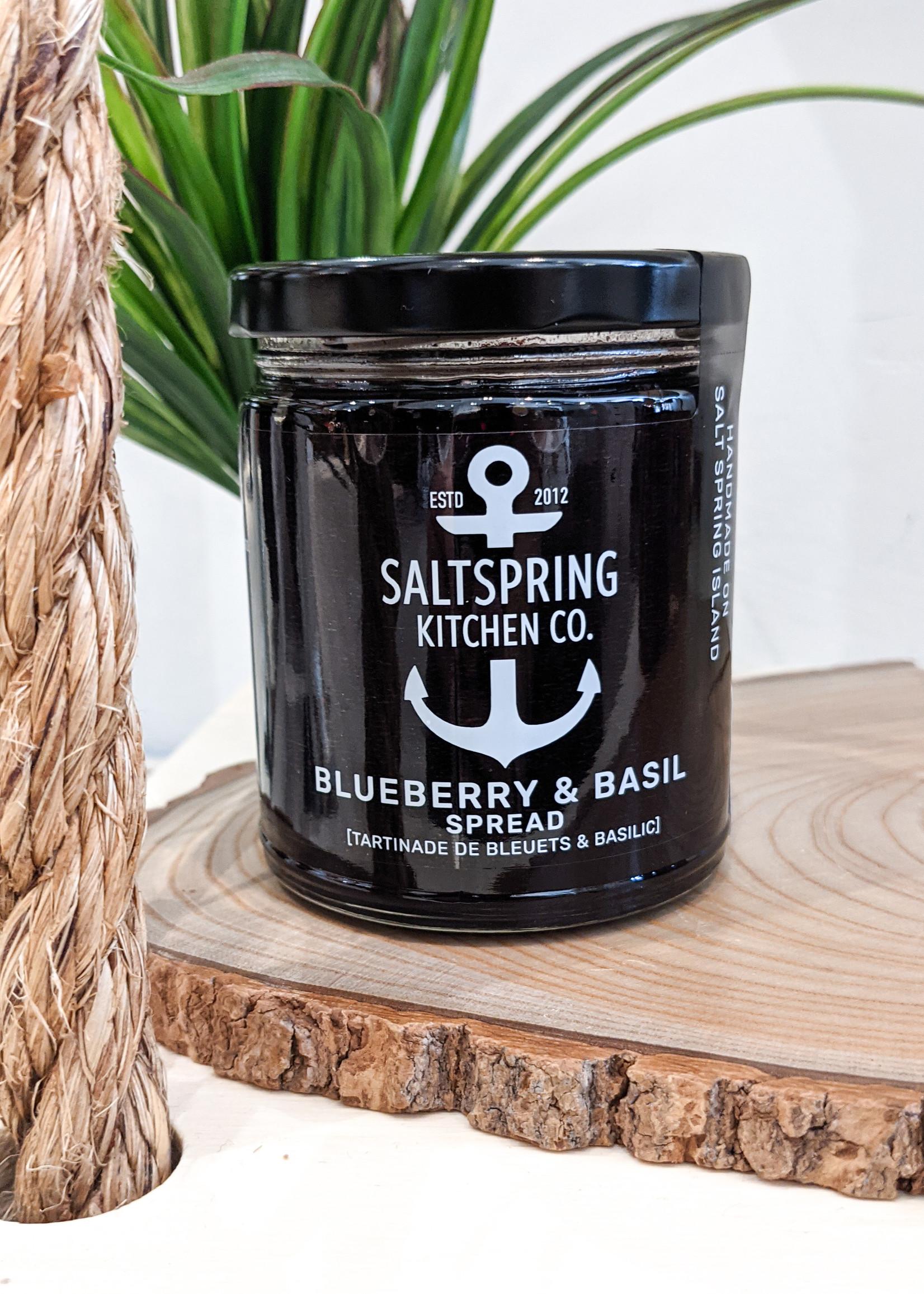 SaltSpring Kitchen Co. - Blueberry Basil Preserve