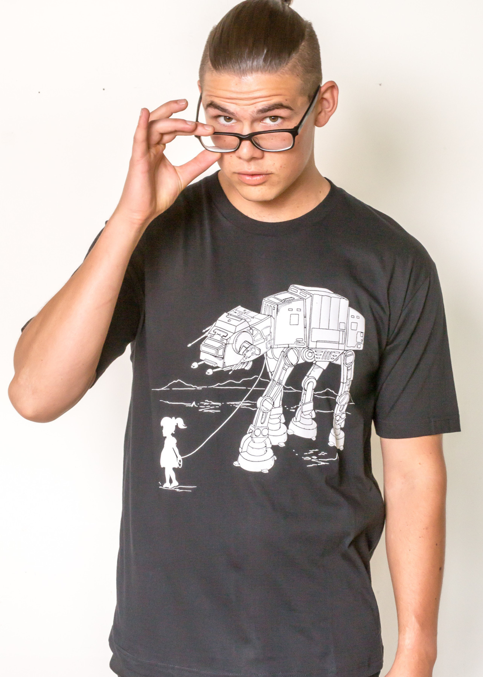 Migration - Little Girl and pet AT-AT T-Shirt