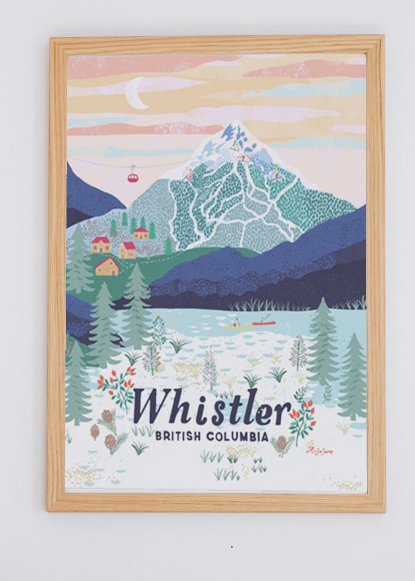 Anja Jane Anja Jane - Whistler Print