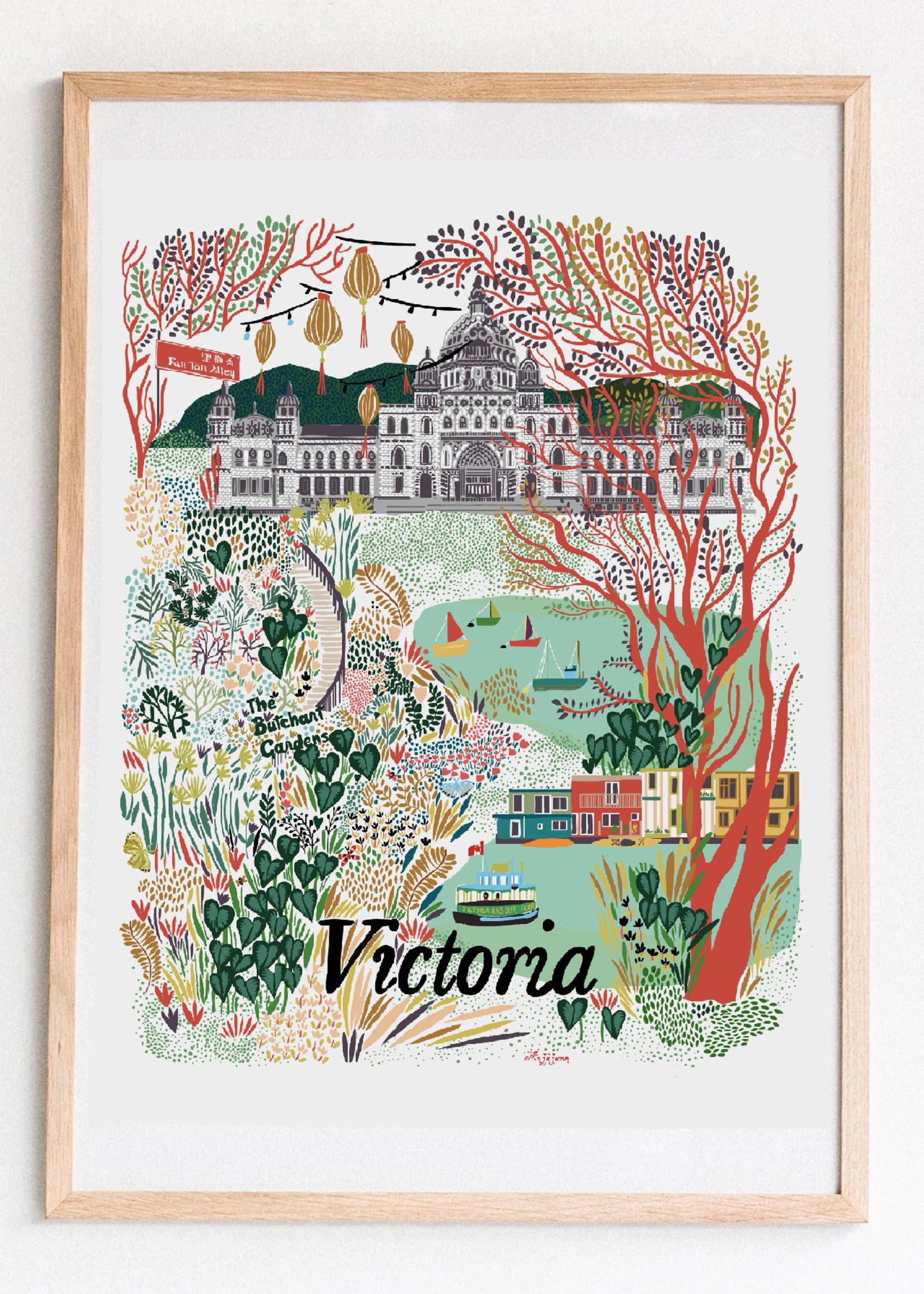 Anja Jane Anja Jane - Victoria Print