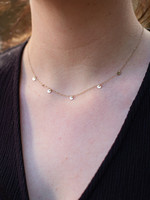 May Martin Five Coin Necklace