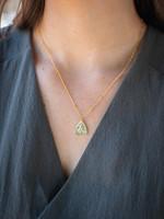 May Martin Triangle Mary Necklace