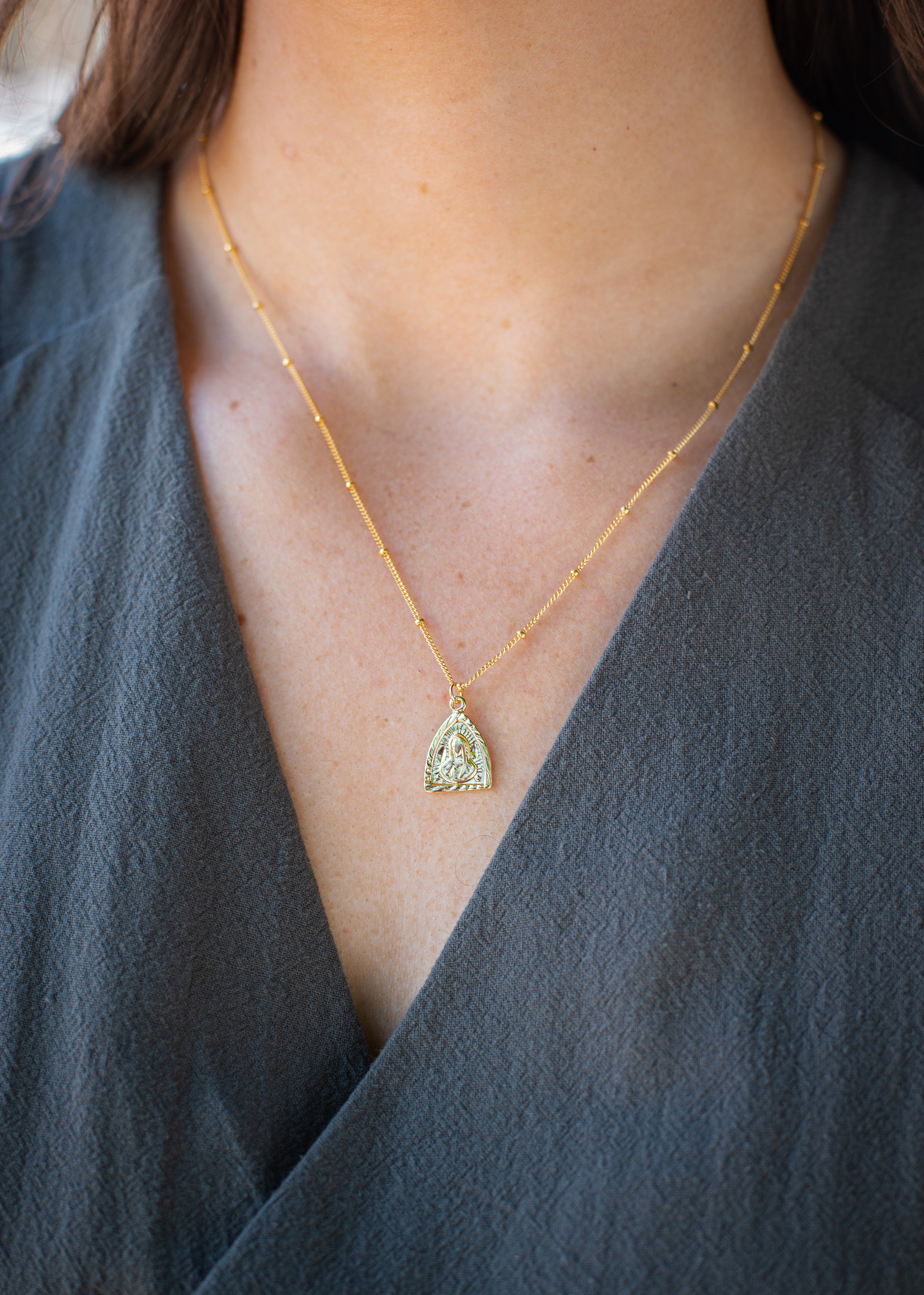 May Martin May Martin - Triangle Mary Necklace