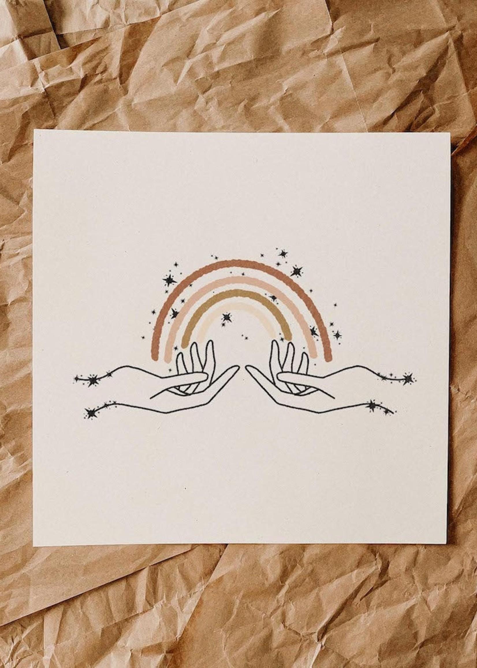 Colorblokc Colorblokc - Look For Rainbows Print
