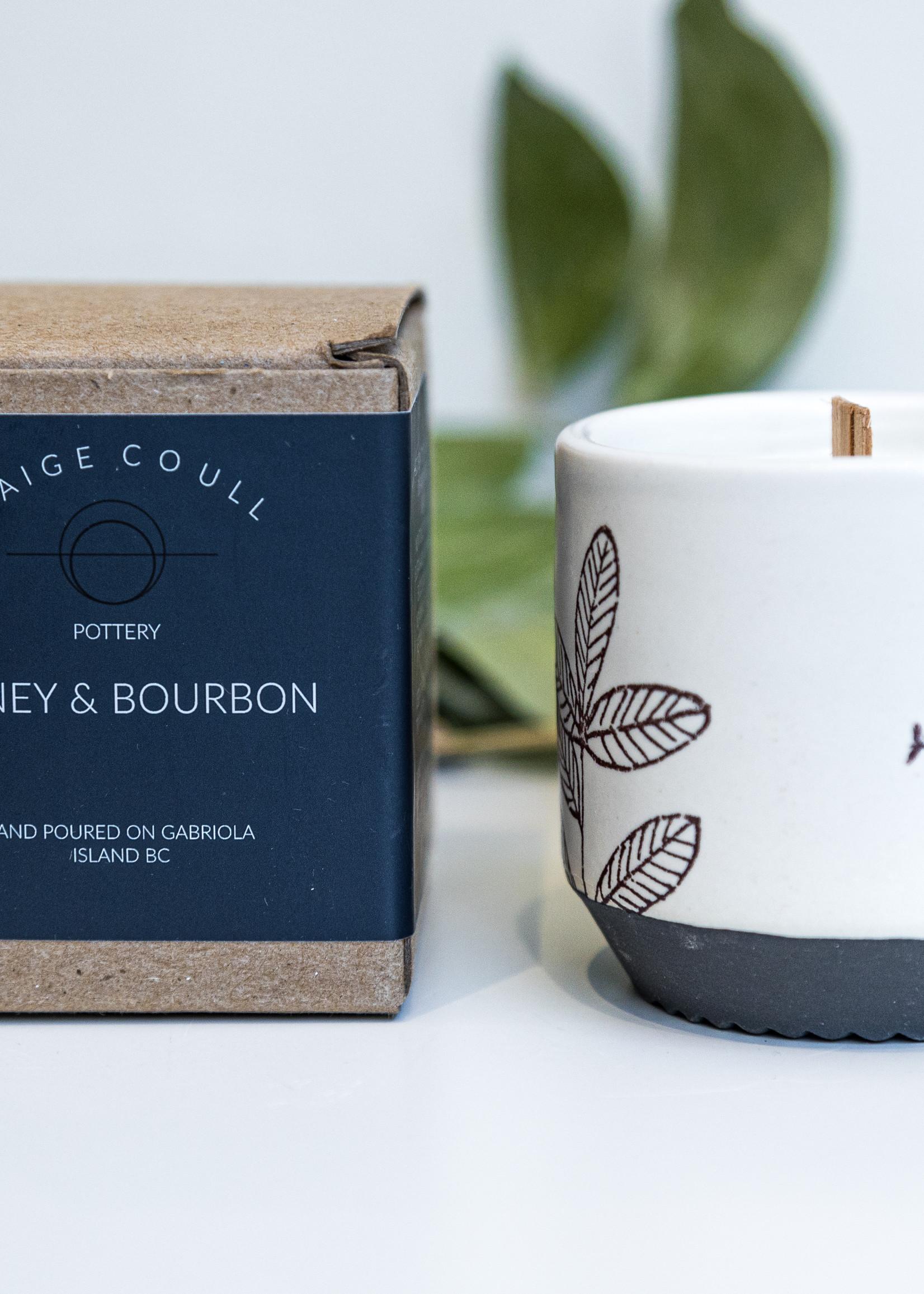 Blackbird Studios Honey + Bourbon Candle