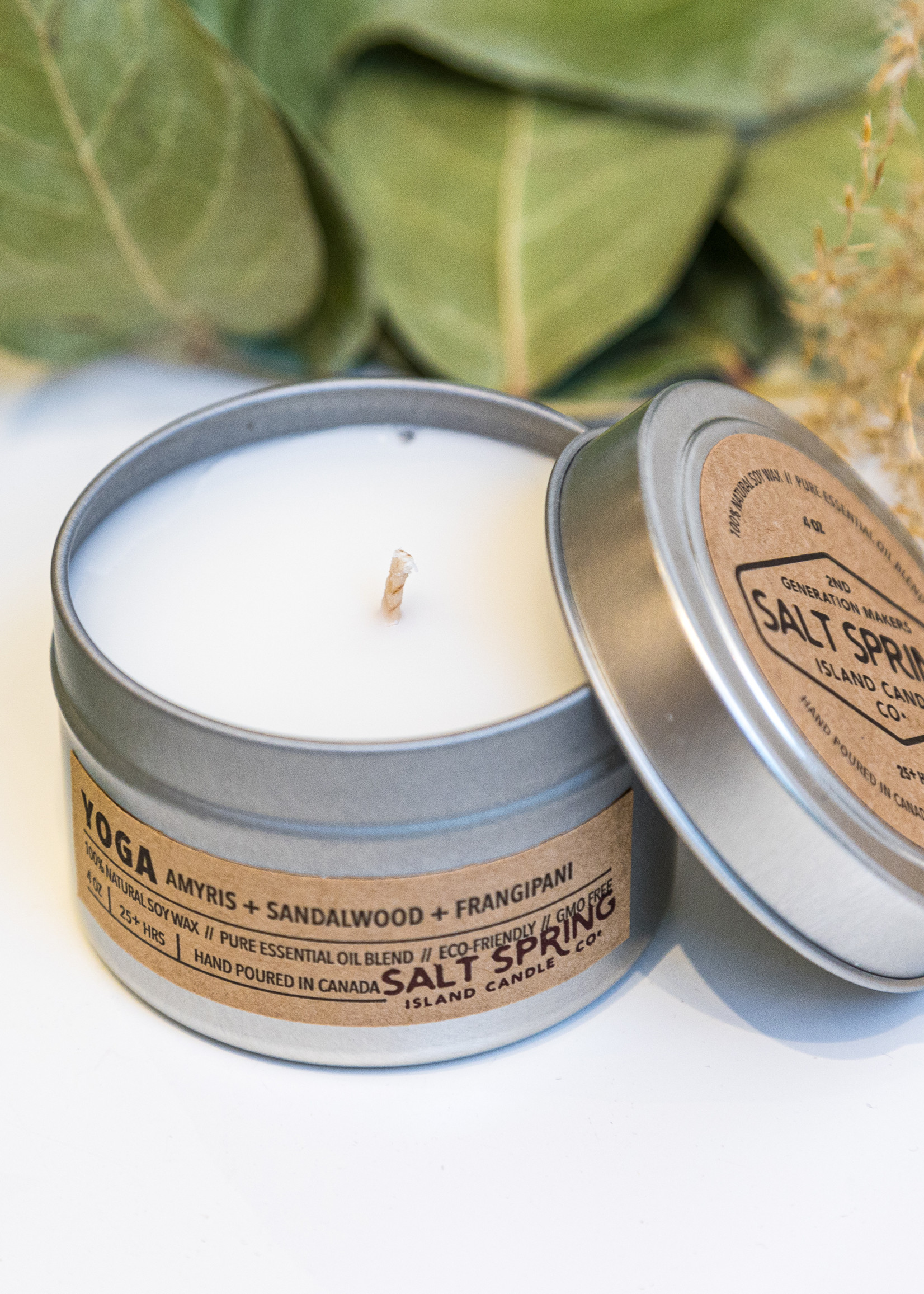 Salt Spring Island Candle Co. - Yoga 4 oz Candle