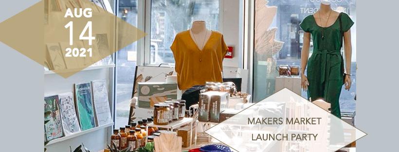Vancouver Launch Party & Makers Market