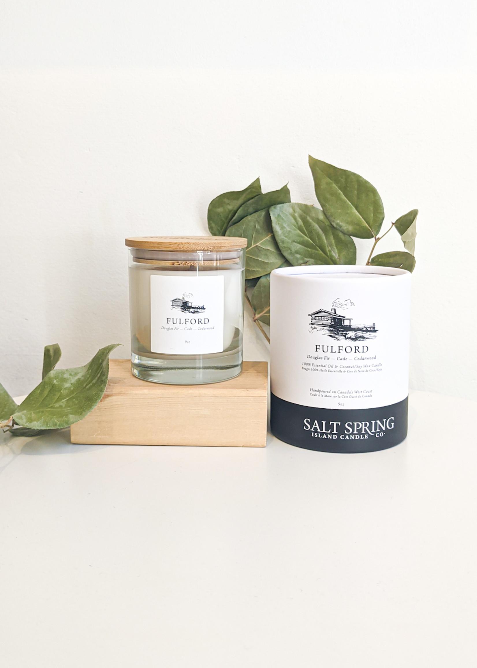 Salt Spring Island Candle Co. - Fulford 9 oz  Candle