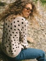 Chukar Sweater Stone/Black