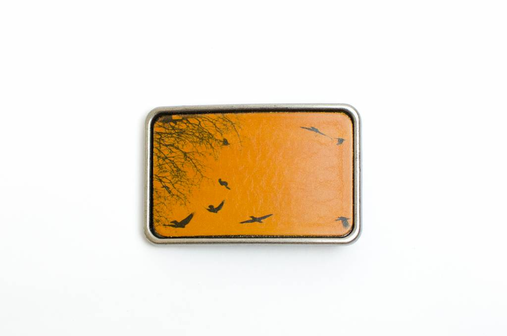 Yellow Birds Leather Buckle