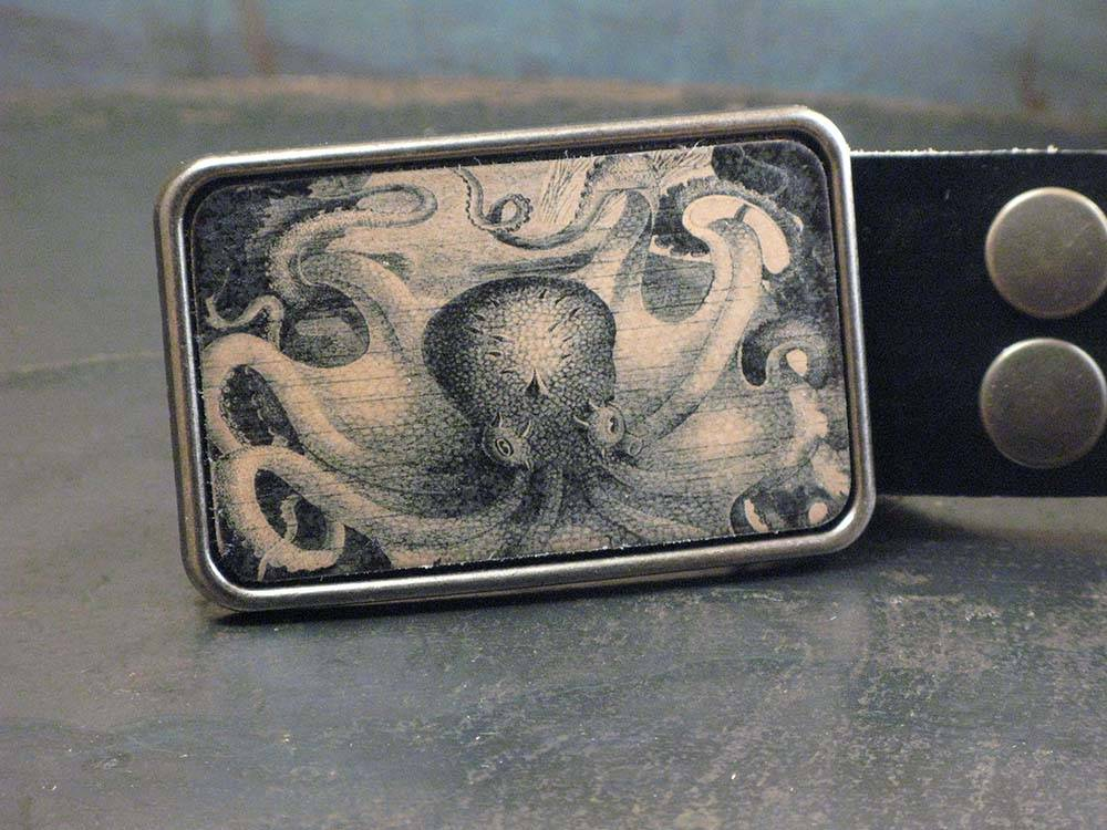 Octopus Leather Buckle