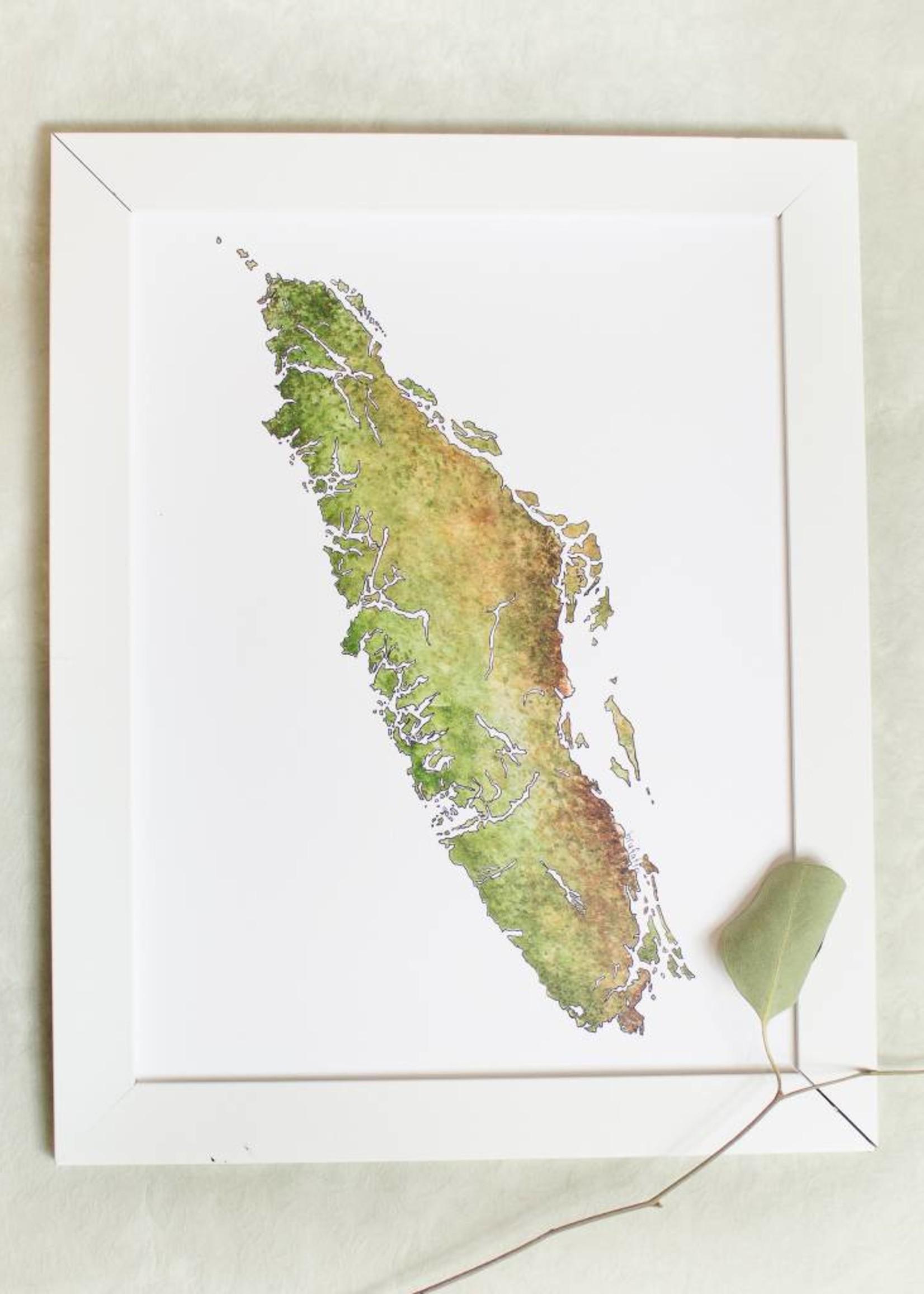 Hello Yellow Canary - Vancouver Island Print