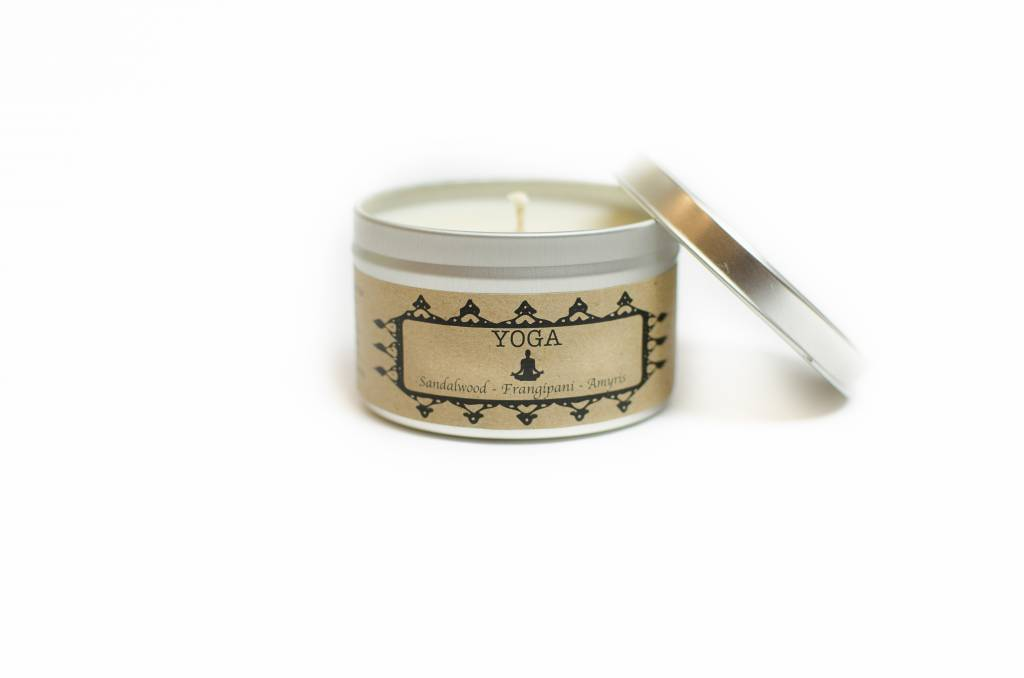 Yoga 8 oz Candle