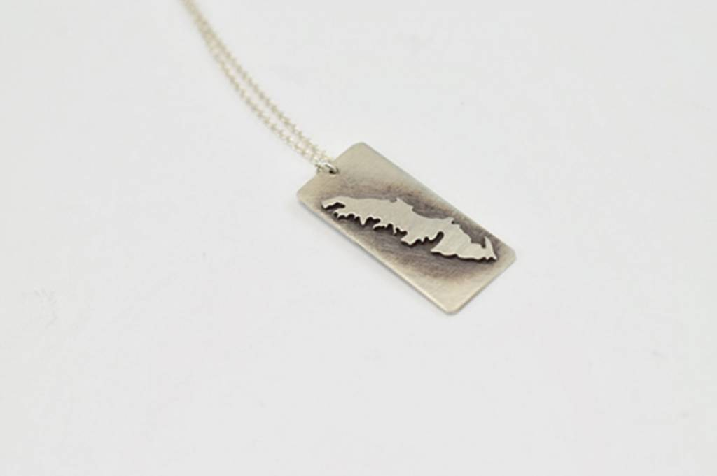 Vancouver Island Pendant Necklace