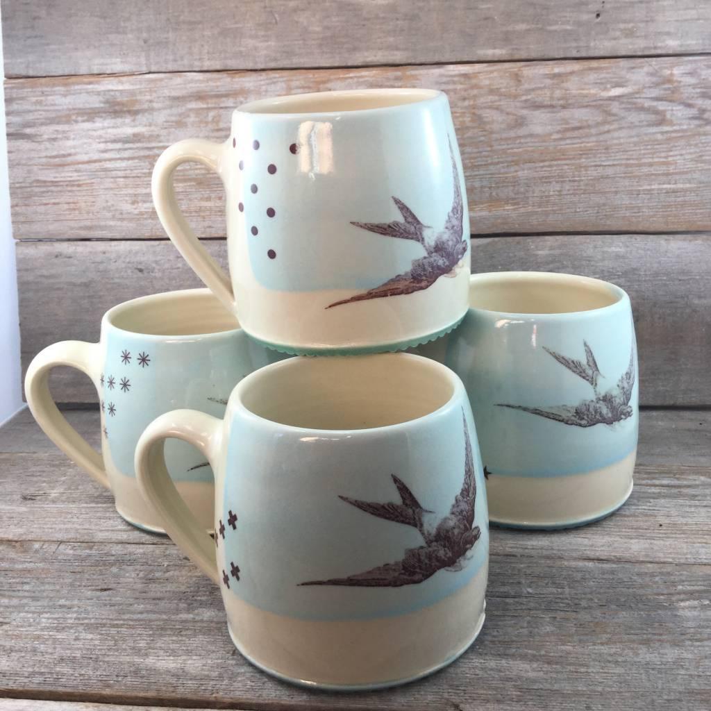 Swallow Mug Sky - Aube Collection