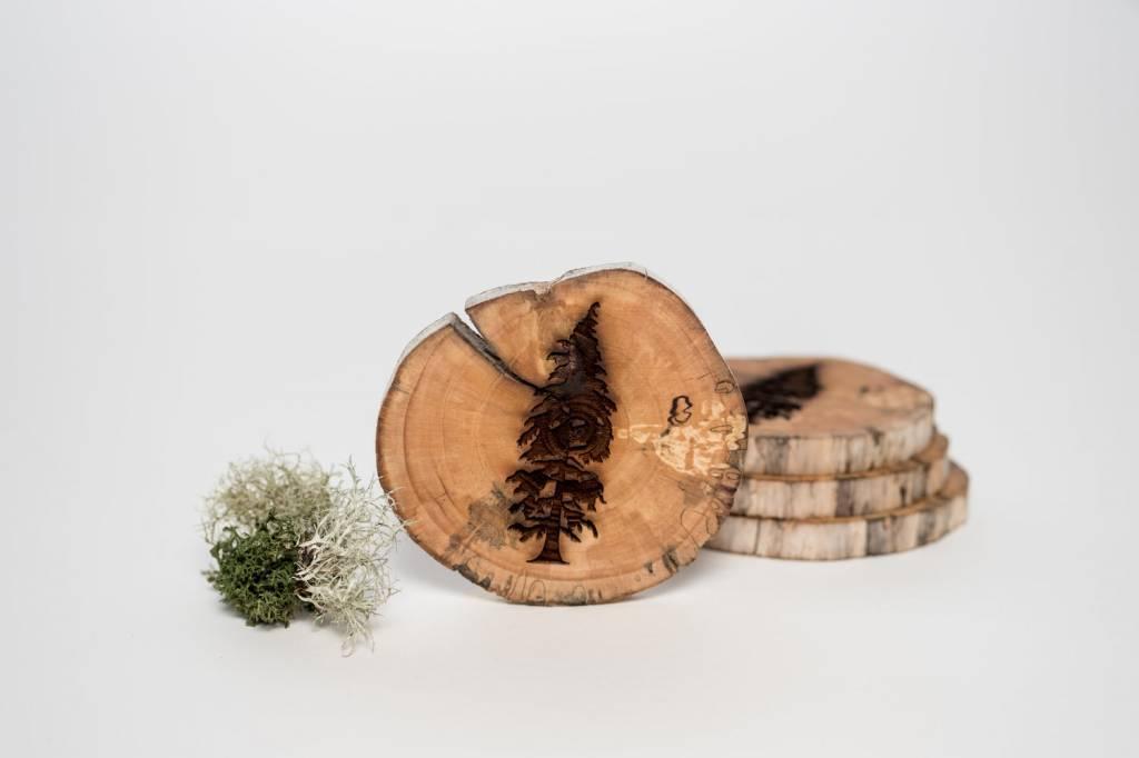 Tree Coasters (x4)