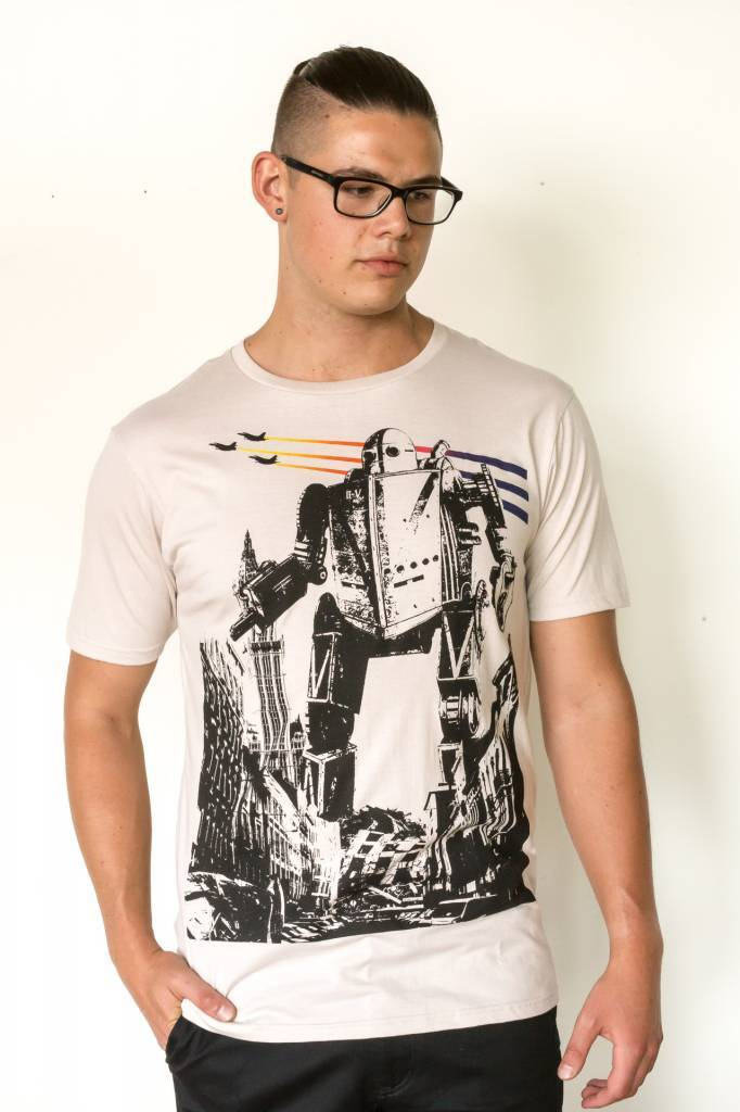 Iron Giant in the City T-Shirt