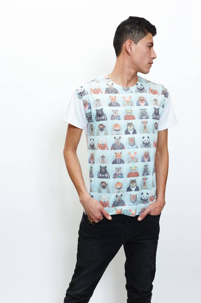 Animal Polaroids T-Shirt