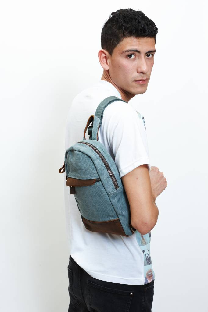 Mini Backpack - Green