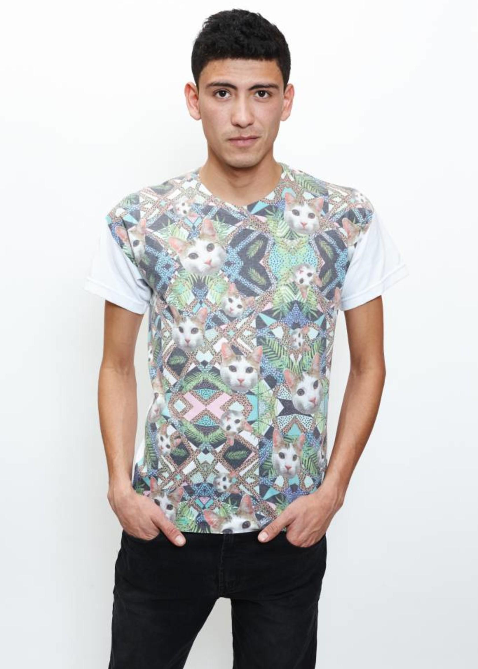 Migration - Geometric Cat T-Shirt